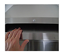 BOXの特徴 施錠可能な書類の投入口